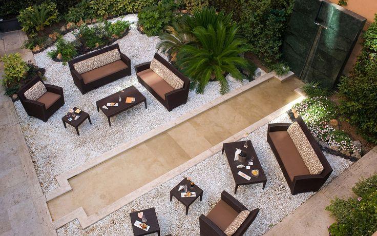 Garden design hotel