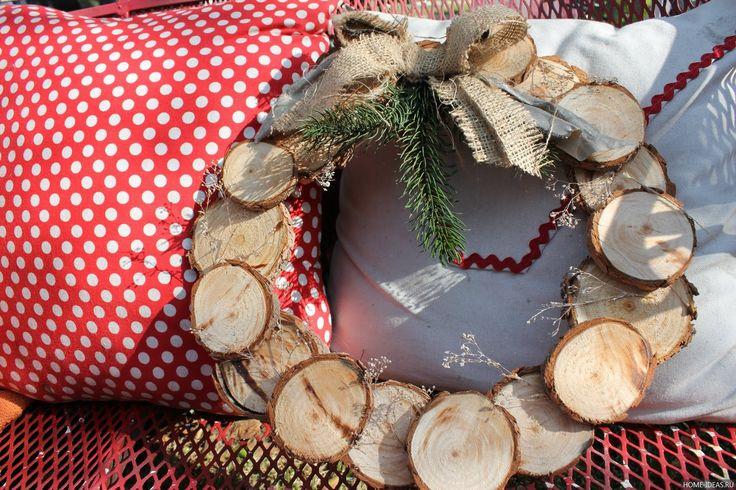 Как сделать рождественский венок своими руками: пошаговая инструкция, видео мастер-классы и фото
