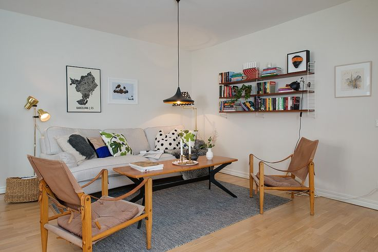 Livingroom - Tom Dixon lamp