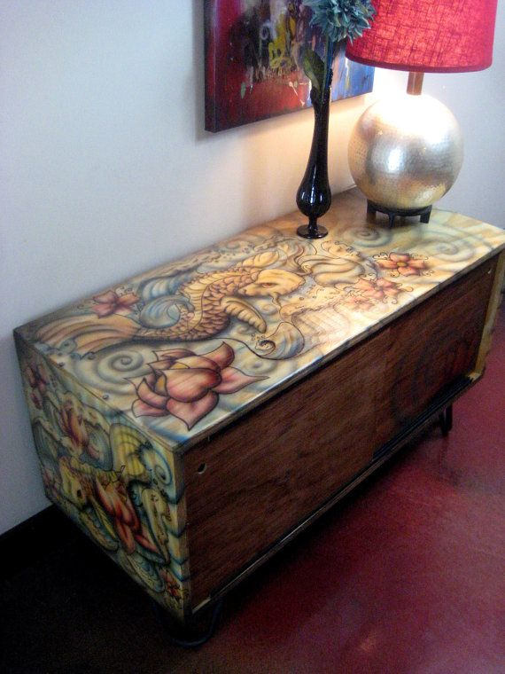 208 best images about tattoo koi on pinterest pisces for Koi furniture