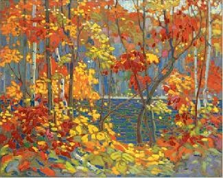"The Group of seven  Tom Thomson  ""The Pool"""