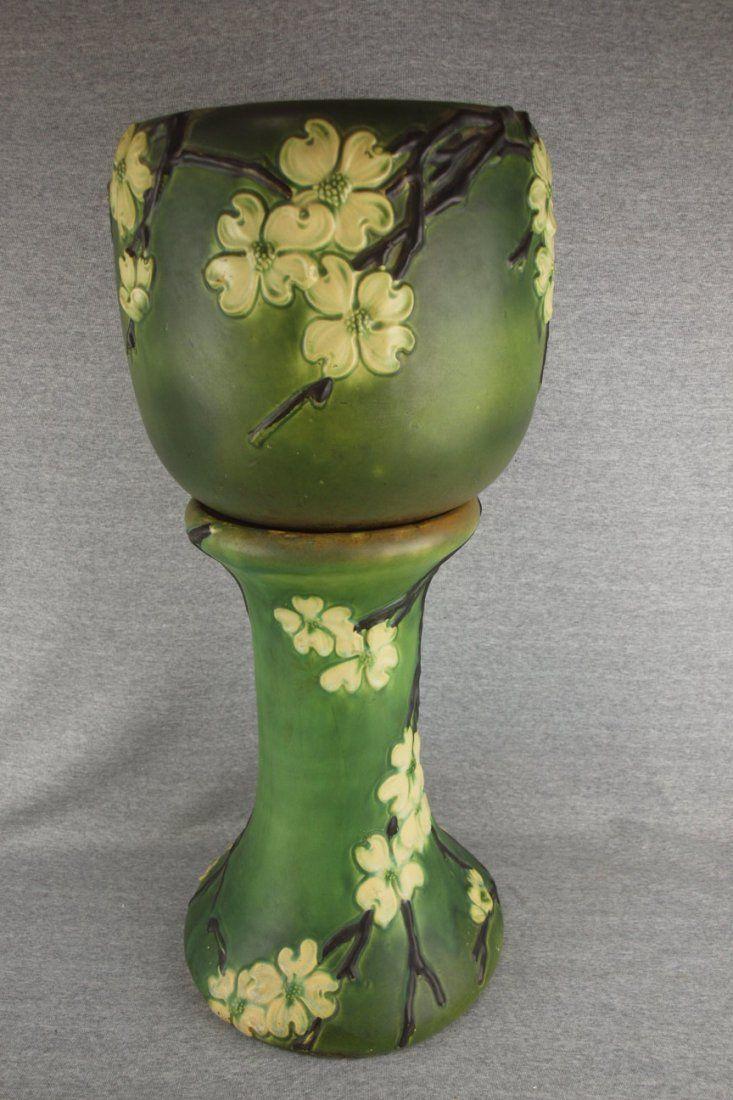 158 Best Jardiniere Amp Pedestal Images On Pinterest Antique Pottery Pedestal And Art Nouveau