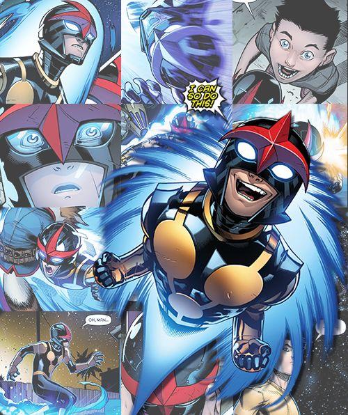 Ultimate Spider Man Free Comic Book Day: 225 Best Nova Images On Pinterest