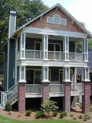 New homes under construction 2 story model home v for 2 story porch columns