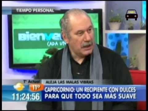 Pedro Engel entrega consejos alejar malas vibras- Bienvenidos Canal 13 Parte 2 - YouTube