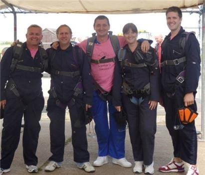 Skydive helps give Sophie better life - Isle of Wight: A CHARITY skydive has raised almost £4,000 to help, Sophie MacKinnon, two, who has had six brain operations after she was born 13 weeks prematurely with cerebral palsy and hydrocephalus.