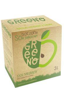 green'o dostępny jest w opakowaniach kartonowych