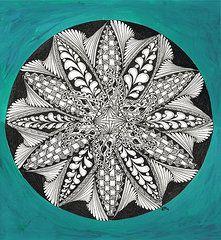 Zentangle Art - Completed Zen by Dianne Ferrer  http://fineartamerica.com/art/all/zentangle/all?page=16