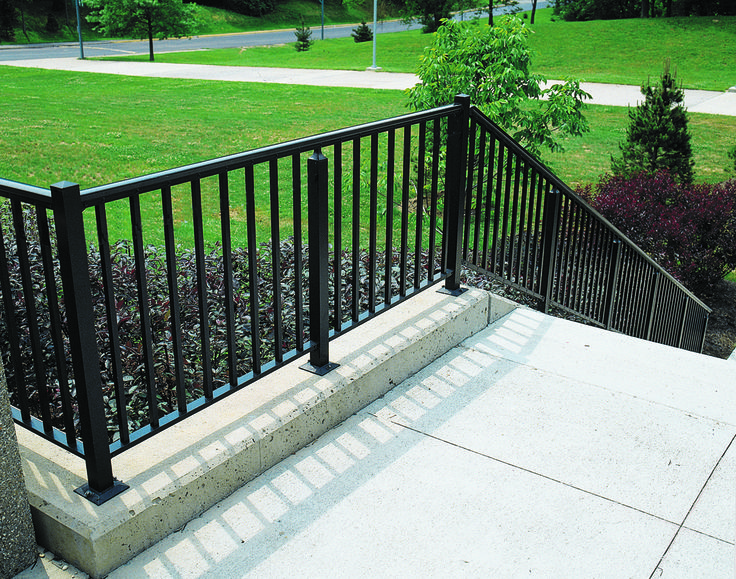 Heavy Duty Railing Is Perfect For Stairs, Balconies, Ramps, And More!