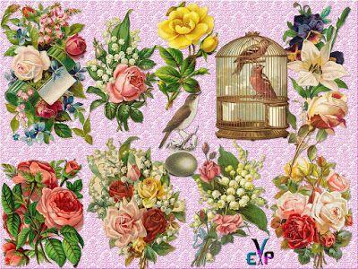 http://www.imagedite.com/2016/07/clipart-png-vintage-flowers-cluster.html