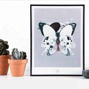 Graphic print - #Hidden forest #marble # watercolour #design #graphic #art - for more Info: maingraphicartwork.bigcartel.com