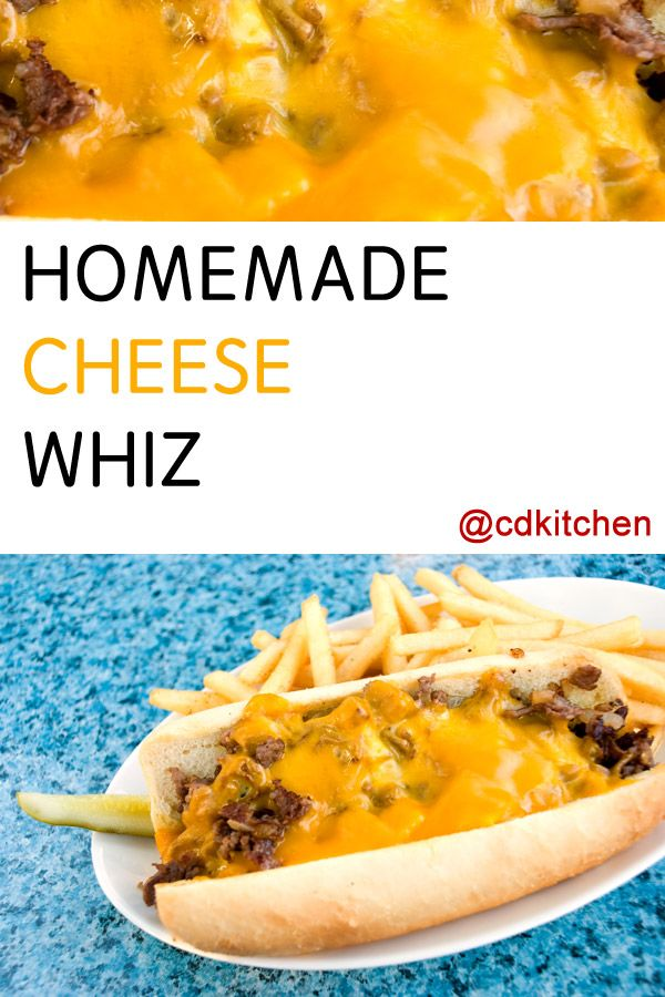 Made with American processed cheese, evaporated milk, butter, egg yolks, flour | CDKitchen.com