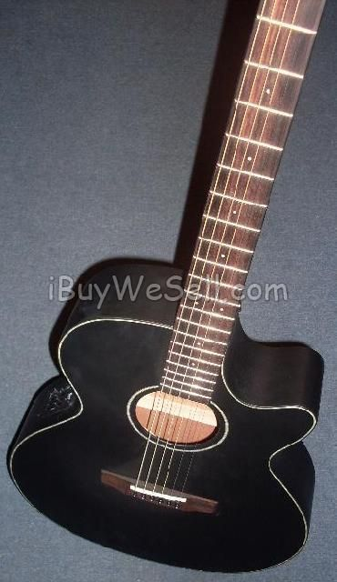Cort SFXE-BKS electro- acoustic guitar. Color: black. Perfect condition!!!