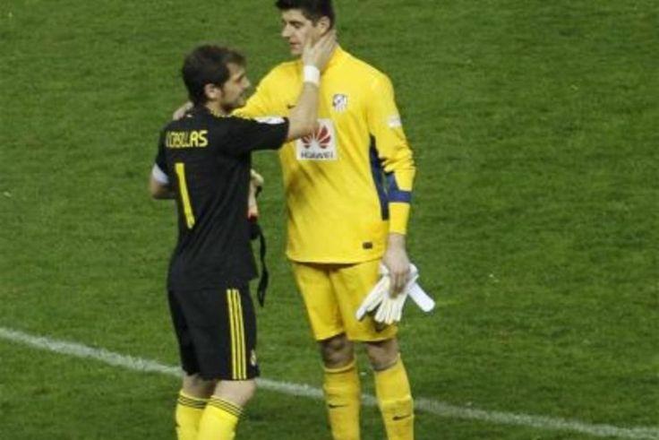 """Simeone: """"No querría a Casillas, ya tengo a Courtois""""  #simeone #casillas #fichajes #ligabbva"""
