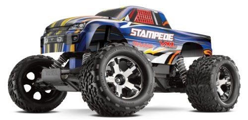 Special Offers - Traxxas 36076 Stampede VXL: Monster Truck Ready-To-Race Colors May Vary (1/10 Scale) - In stock & Free Shipping. You can save more money! Check It (May 07 2016 at 12:32AM) >> http://kidsscooterusa.net/traxxas-36076-stampede-vxl-monster-truck-ready-to-race-colors-may-vary-110-scale/