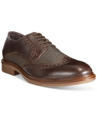 Alfani Men's Zack Mixed Material Wingtip Derby Oxfords, Only at Macy's |  macys.com · Shoes MenMen's ShoesMixed MediaDerbyShoes OnlineOxfordsWeddingShops  ...