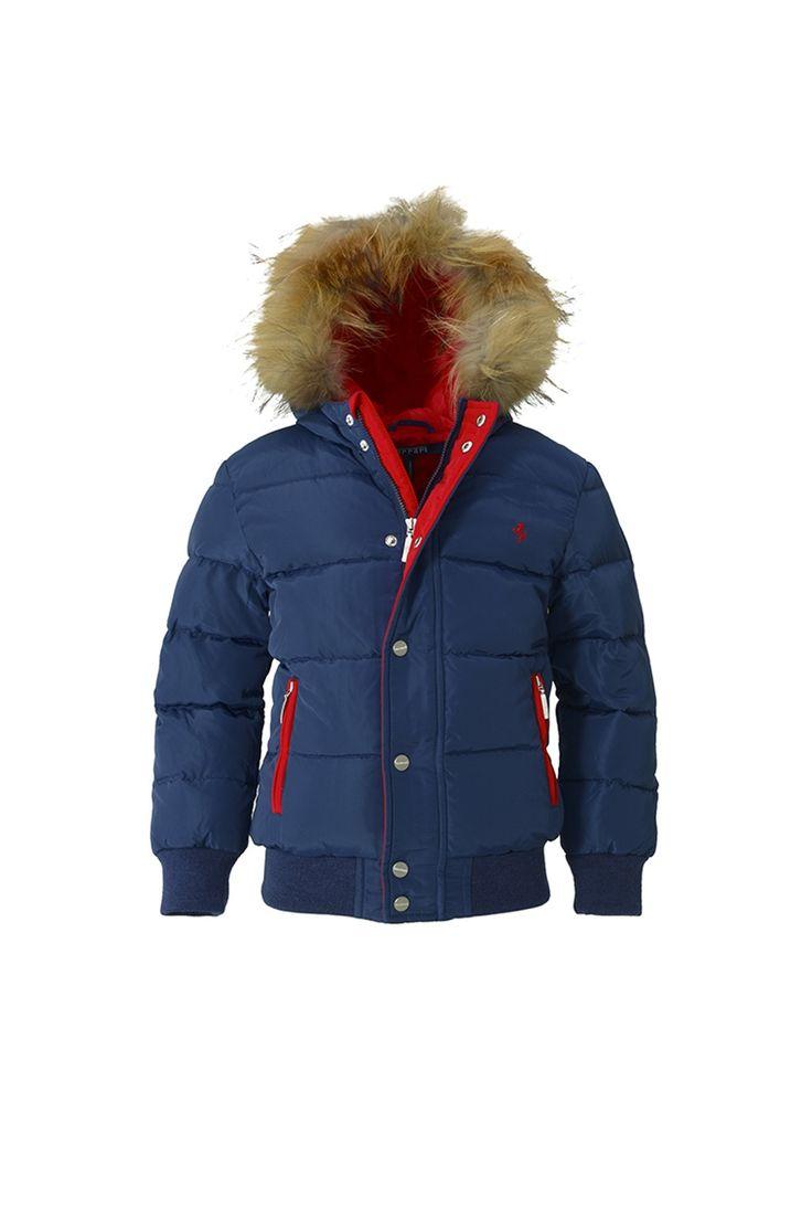 Однотонная стеганая куртка на молнии с контрастными вставками http://oneclub.ua/kurtka-34248.html#product_option4