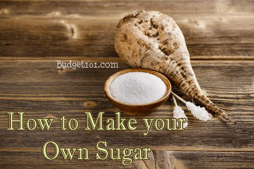 How to Make Your Own Sugar. For the apocalypse cause I'd be freaking out over it like it was a twinkie.