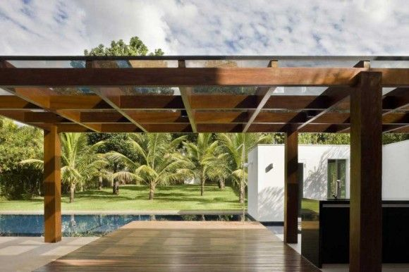 Modern pergola designs pergola pinterest home design for Open pergola designs