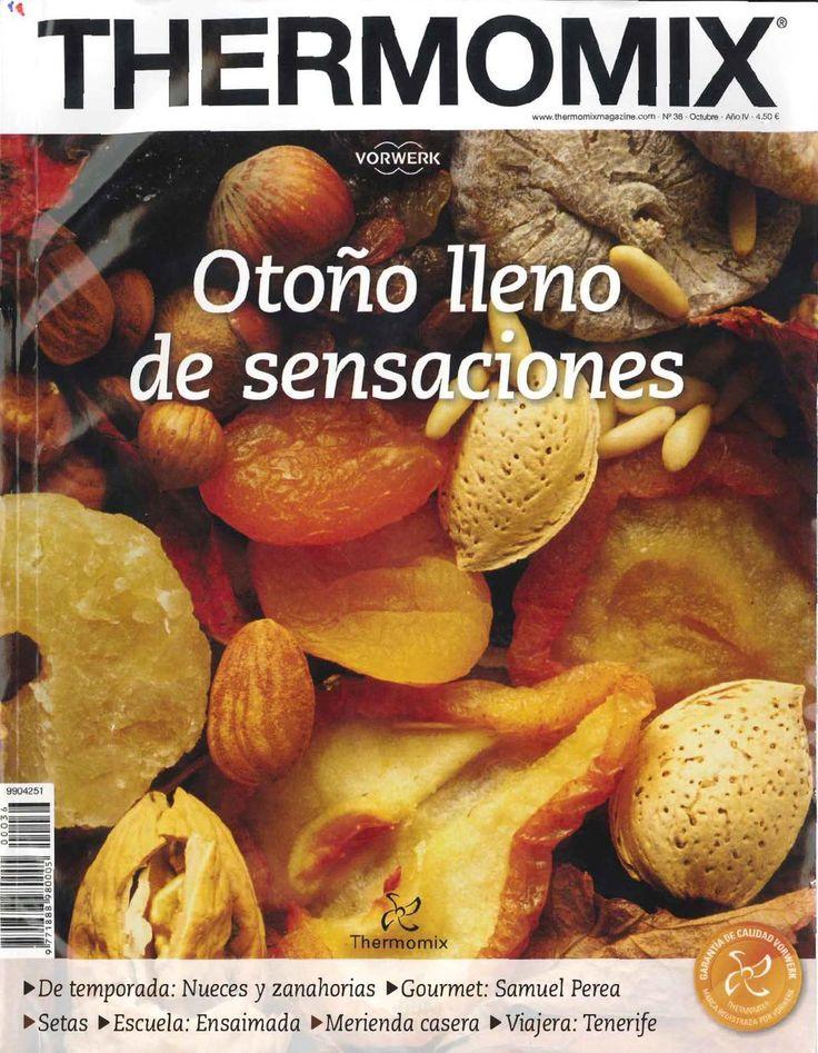 Revista thermomix nº36 otoño lleno de sensaciones