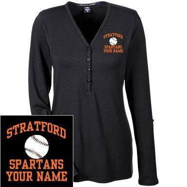 Ladies Stratford High School Spartans T-Shirts | SpiritShop.com