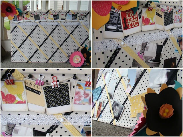 DCWV Snapshot Stack Photo Board: Photo Boards, Stacking Photos, Photos Boards
