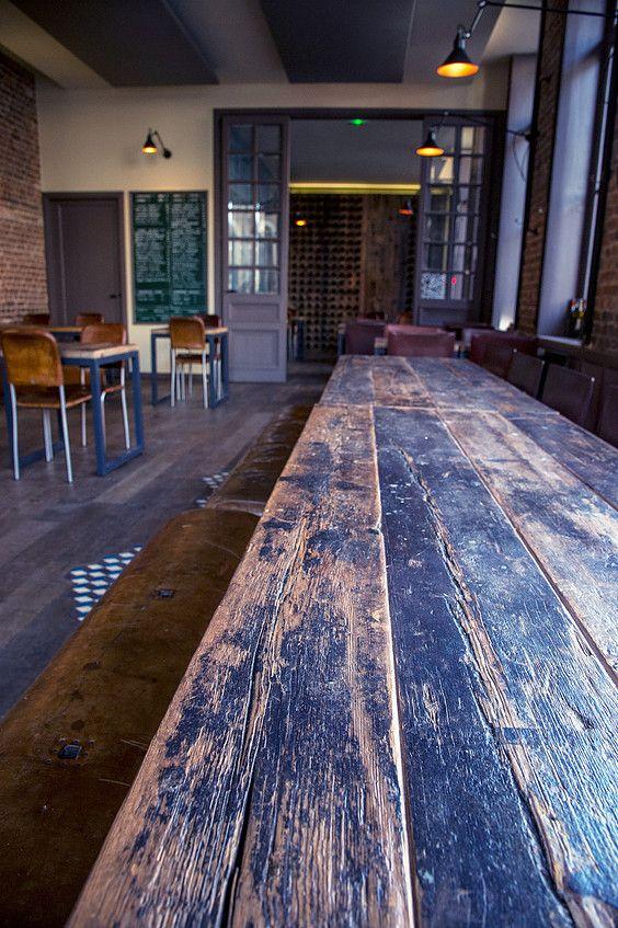 Projet conçu par Audrey Boey : Bar à vins Jaja, Lille. Aménagement d'intérieur et décoration