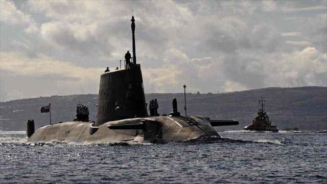 La verdad oculta: Submarinos británicos se acercan a Siria para posi...