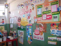 Resultado de imagen para aulas de primaria ambientacion