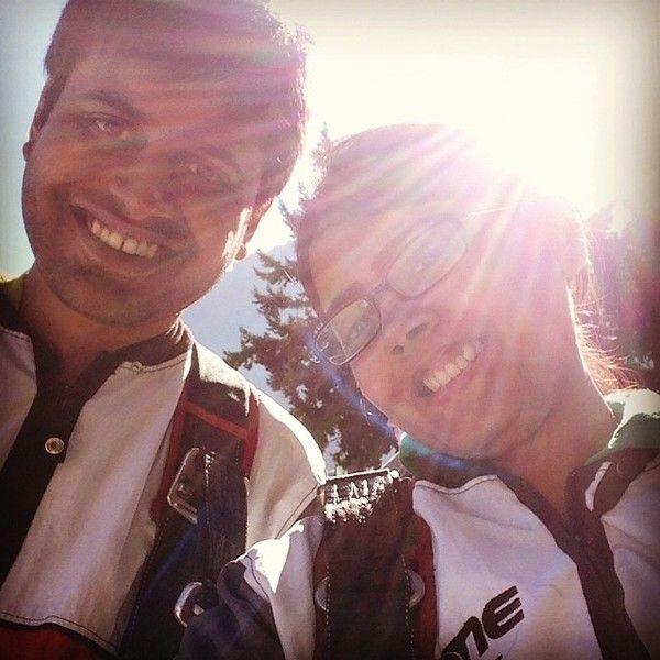 sky diving - we did skydiving wohoo nzone newzealand love