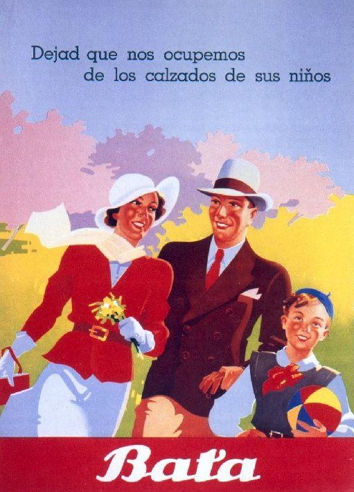 Vintage ad by Bata Latin America #batashoes #bata120years #advertising