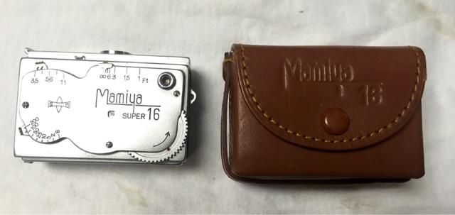 $30.00 - (Vintage Spy Camera) Mamiya Super 16 Subminiature Camera;