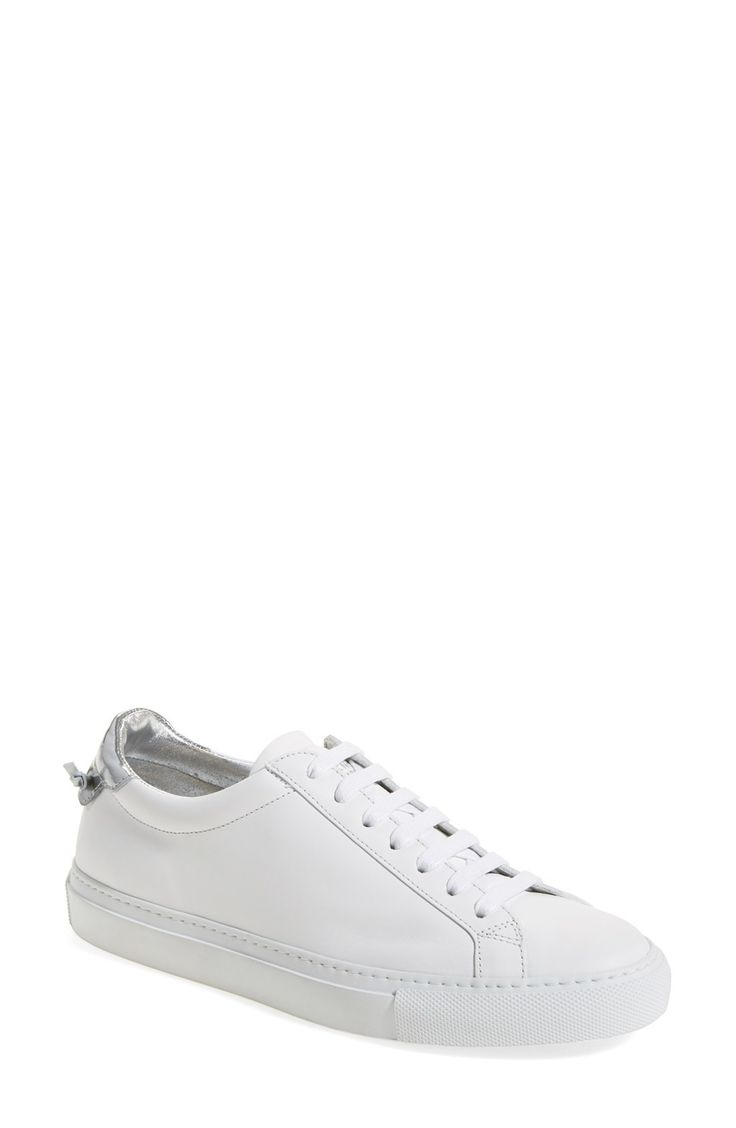 Free shipping and returns on Givenchy Low Top Sneaker (Women) at Fashiondoxy.com. Pre-order this style today! Add to Shopping Bag to view approximate ship date. You'll be charged only when your item ships.A bright white, eye-catching sneaker is shaped