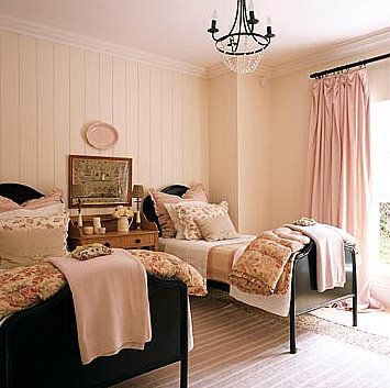 Adore This Soft Pink And Black Bed Part 67