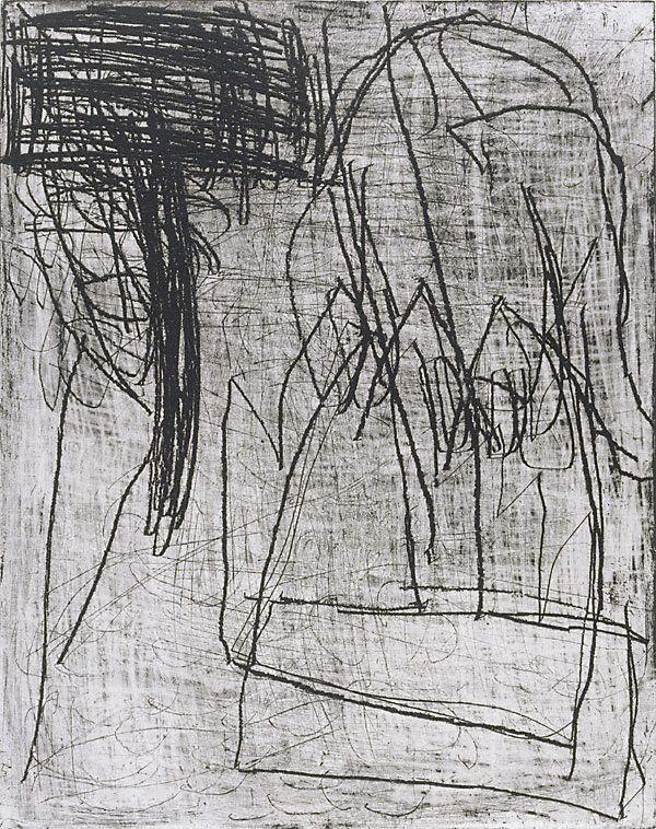Aida Tomescu, Ithaca I, etching