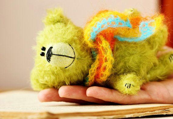 Jose  OOAK Artist Teddy Bear   Miniature soft mohair by Lolatoy