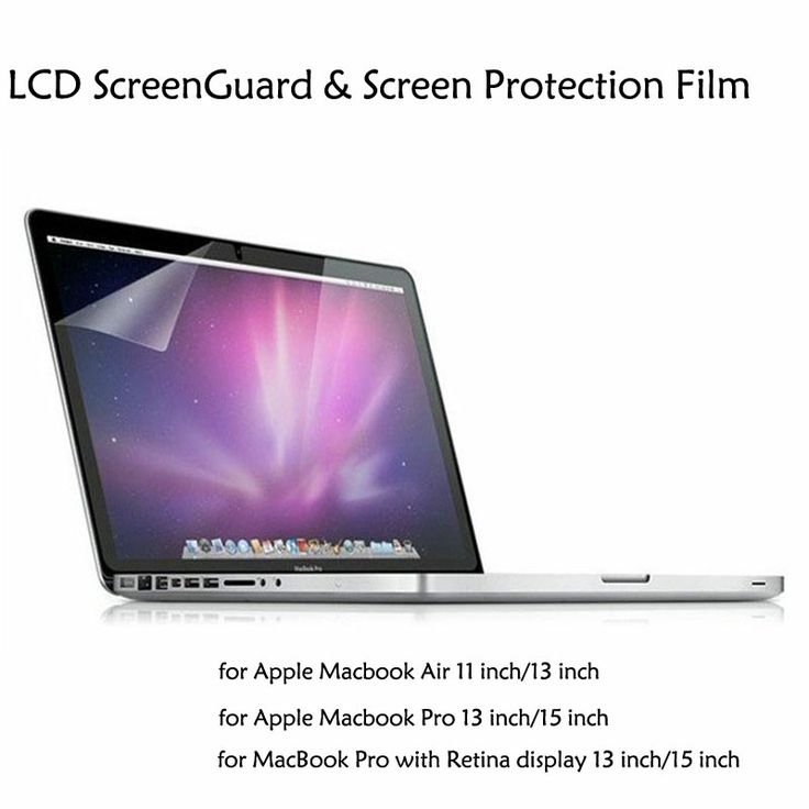 High Transparence LCD Screen Guard Protector Film for Macbook Air and Macbook Pro. high quality apple macbook air and pro accessories supplier in china. -  www.ilongsight.net.