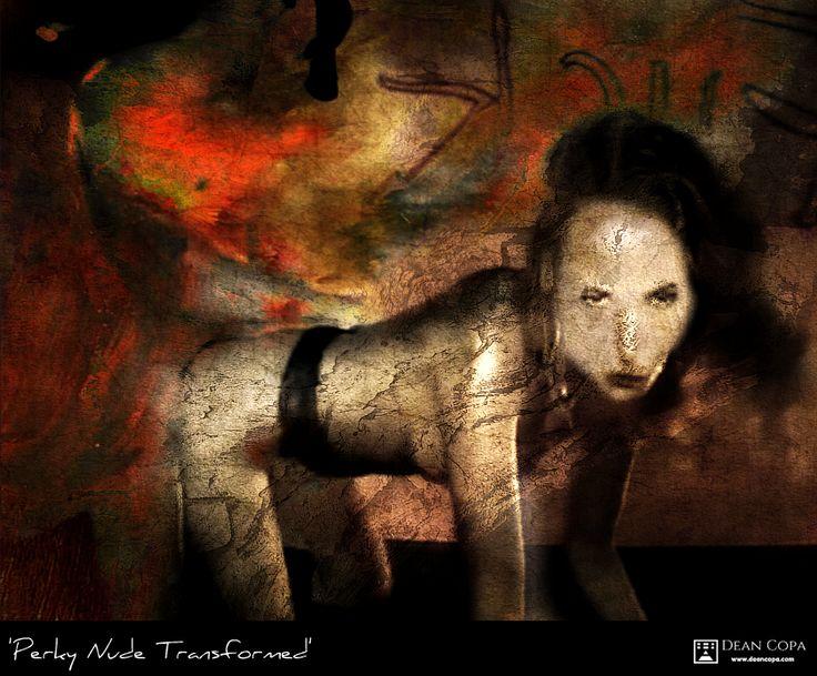 """Perky Nude Transformed"" 2014 by Dean Copa."