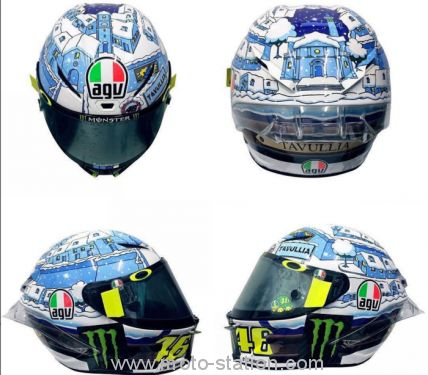 Rossi Sepang winter test AGV 2017