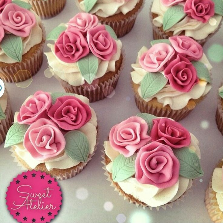 Mothers Day Cupcake Idea