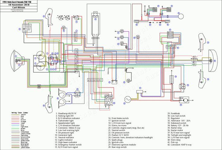 10  Yamaha V50 Motorcycle Wiring Diagram