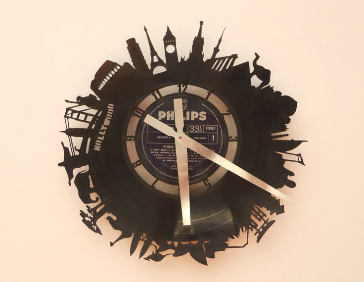 26 best relojes de pared calados laser cutting wall - Relojes de vinilo ...