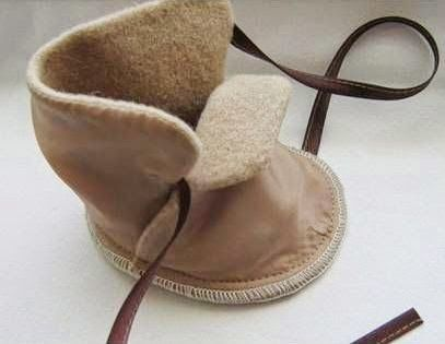 Cara Membuat Kerajinan Tangan Dari Kain Flanel | Sepatu Bayi | Inilah Kreasi Cara Membuat Kerajinan Tangan Dari Kain Flanel