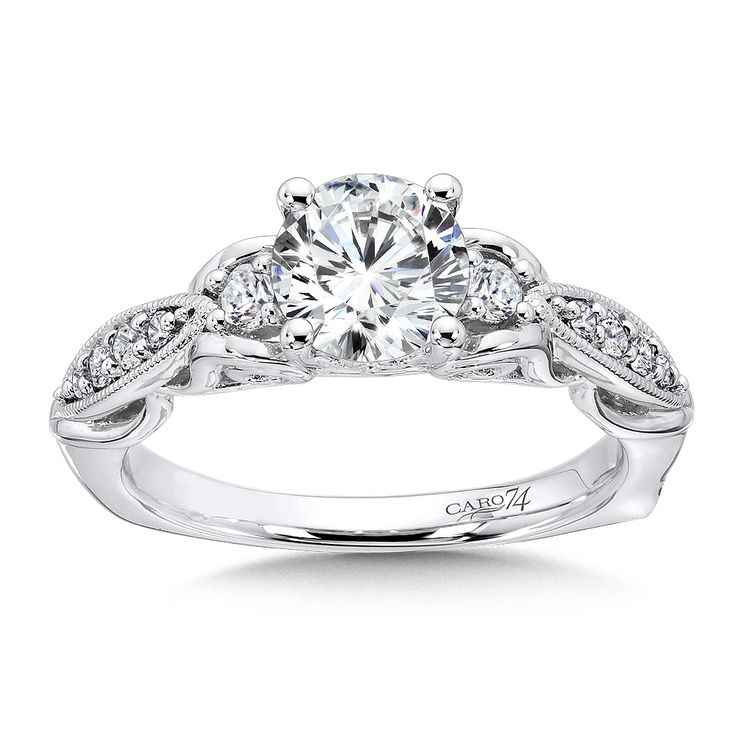 10 best Caro 74 Engagement Rings images on Pinterest Classic