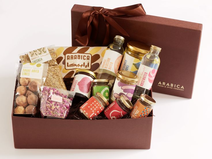 The Arabica one stop gift hamper crammed full of middle-eastern larder essentials, that will set up the keenest of home cooks.