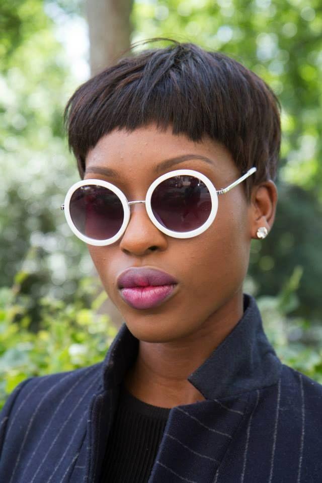 London Collection Fudge - Streetstyle collection hairstyle - taglio corto femminile #capelli #hairstyle #streetsyle  © Daniel Campagne, 2014