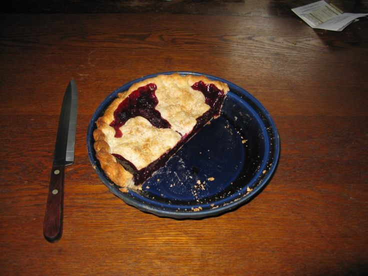 This was my Mom's speciality.  My Dad loved it and the last piece was always his.  Blackraspberry Pie.  NOT Blackberry, big difference