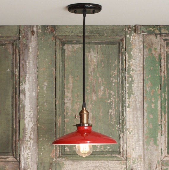 Best 25+ Red Pendant Light Ideas On Pinterest