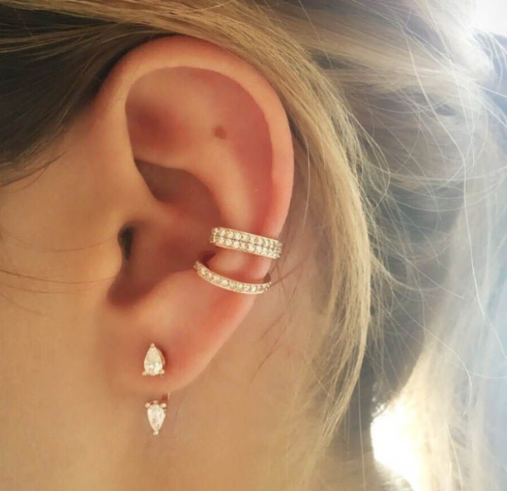 ear cuff piercing ajustavel