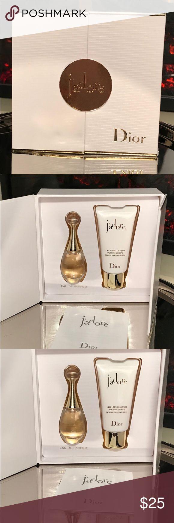 Jadore Eau de parfum & body milk. Jadore .5 ml eau de Perfume & 20ml Body milk. Christian Dior Makeup